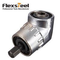 Wholesale Flexsteel Degree quot mm Adjustable Turning Hex Bit Angle Extension Driver Magnetic Screwdriver Socket Holder Adaptor