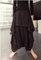 baggy aladdin pants - Avant garde Design Men s Oversized Casual Loose Gypsy Hippie Aladdin Baggy Indian Harem Pants Nepal Mens Hair Stylist Trousers