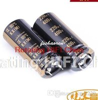 Wholesale Promotion Kit NICHICON uf V KX x50mm new Aluminum Electrolytic Capacitor freeshipping audio Odroid v220uf