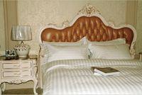 Wholesale Cotton Duvet Covers Strip Luxury Hotel Bed Linen Set Flat Sheet For Motels