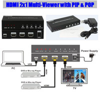 audio video entertainment - 2016 new HDMI x1 Multi Viewer with PIP POP Seamless switcher into HDTV Digital Audio and Video Entertainment P