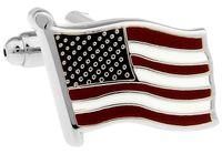 Wholesale New Top grade cufflinks for men USA American Flag Cufflinks high quality shirts Cuff links