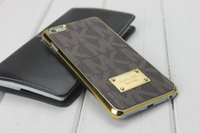 Wholesale Case for iphone s s leather brand case cover for samsung galaxy s5 s6 s7 edge plus note