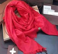 Wholesale Newest women s scarf famous brand scarves wraps silk wool shawls square Design Fashion Pashmina colors