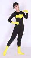 batwoman costume - 2016 batwoman Zentai Unitard Spandex Skin Suit Party Halloween Adult Costumes