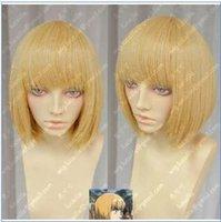 achat en gros de attaque titan armin perruque-Livraison gratuite ** Attaque sur Titan Armin Arlert court cheveux blonds cosplay Party Wigs