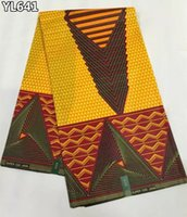 africa wax - Most popular africa ankara fabric wax fashion good look cotton prints wax fabric for Nigeria garment YL641