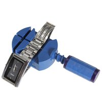 Wholesale Durable Blue Watchmaker Tool Pin WatchBand Link Pin Remover Strap Adjuster Opener Watch Repair Tool