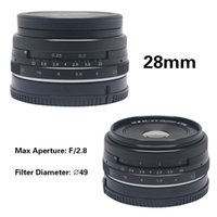 Wholesale Mcoplus Meike MK mm f fixed manual focus lens for APS C Mirrorless Camera Canon Eos M1 M2 M3
