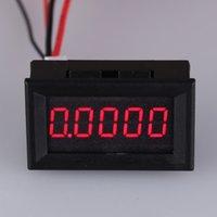 Wholesale LED Digital Current diagnostic tool Digit Ammeter Electric Detector Ampere Meter Portable Tester Ammeter A