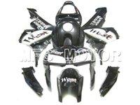 Wholesale Injection ABS molding Motorcycle Fairings for HONDA fairings CBR600RR black white WEST fairing kit CBR RR F5
