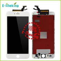 Noir blanc LCD écran tactile digitizer écran remplacement complet pour iPhone 6S 4.7 6S plus 5.5 avec 3D Touch Livraison gratuite