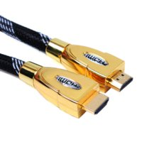 Wholesale 1 M k P HDMI Cable Gold Plated with Ethernet D for HDTV PS3