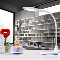 beautiful abs - LED Desk Lamp Table Light Reading lantern Study lamp W Chargeable Black and White V beautiful design via DHL