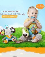 Wholesale Children s Day gift newborn infant animal bed bell bell teething chews puzzle plush toy baby doll
