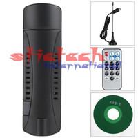 Wholesale 200pcs RTL2832U R820T Digital USB DVB T HDTV TV Tuner Receiver Recorder For Windows XP Vista FREEVIEW
