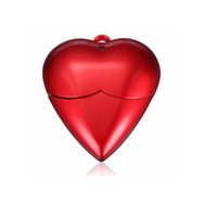 usb flash drive novelty - Novelty USB Flash Drives Plastic Red Love Heart Flash Driver USB Memory Disk GB GB GB GB RLDUSB