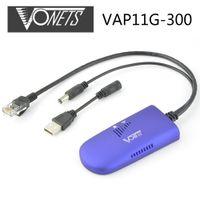 al por mayor vonets repetidor wifi-Repetidor del wifi del alto rendimiento / puente Vonets IEEE 802.11B / G WIFI Dongle puente 2.4Ghz DC5V-15V 1.5W para Xbox PS3