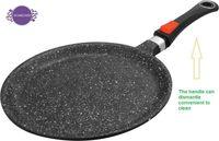 al por mayor aluminum cooker-Mármol color negro cacerola sartenes antiadherente, frypan, olla de pan de aluminio, cocina de inducción, abierto olla caliente especial