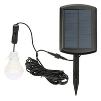 barns sheds - Rechargeable White LED Solar Panel Powered Bulb lamp LEDs LM Shed Barn Light Door Entrance Balcony Use Illuminating Fixtures
