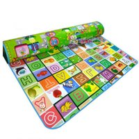 big sample size - 200 cm big size baby Play Mats toy animal sea letter cars eva soft and waterproof good gift for kids