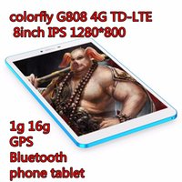 Wholesale colorfly G808 G TD LTE inch IPS g g GPS Bluetooth phone tablet