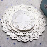 lace doilies - quot quot quot quot quot Sizes Round Lace Flower Paper Doilies Placemat Crafts for Wedding Party Decoration Supplies