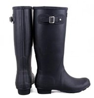 Wholesale Hunter Orginal Tall Women US Black Rain Boot Pre Owned