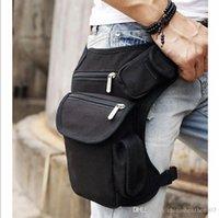 Wholesale Outdoor Canvas Drop Waist Leg Bags Waist Pack Bag Men Running Belt Bicycle And Motorcycle Money Belt Fanny Pack