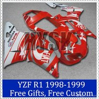 aftermarket decals - Brand fairing kit for YAMAHA YZF R1 Motorbike Cowling YZF R1 Fiat decal fairing set Aftermarket motorcycle bodywork