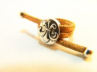 adjust tension - Cork ring Wood color Handmade jewelry rings silver alloy fashion flowers you can adjust the size of the ring