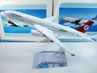 airlines jet - Cheerleading Craft Souvenir Airlines plane model The Turkish airlines B777 cm metal airplane models airplane model