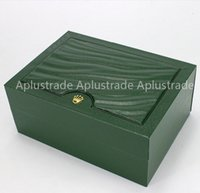 Wholesale Factory Supplier Luxury Watchs Box Green Original Rolex Watch Box Watch Box Watch Box for