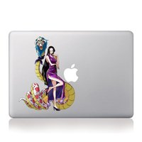 anime laptop skins - Anime One Piece Sexy quot Pirate Empress quot Boa Hancock Vinyl Laptop Sticker For Apple Macbook Air Pro quot quot quot inch Laptop Decal Skin