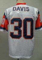 authentic terrell davis jersey - Terrell Davis Jersey Throwback Football Jersey Best quality Authentic Jersey Size M L XL XXL XXXL Accept Mix Order