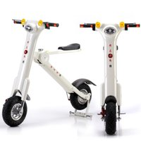 alloy scooters - Foldable electric bicycle with bluetooth speaker e scooter for adult and youngster with lithium battery W battery