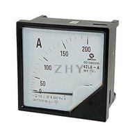 Cheap Wholesale-AC 0-200A 1.5 Accuracy Analog Ampere Panel Meter Gauge 42L6