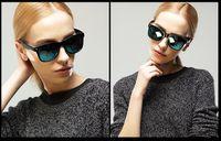 big films - Color film retro fashion sunglasses sunglasses big box ms sun eye frog mirror Sunglasses Polarized Sunglass