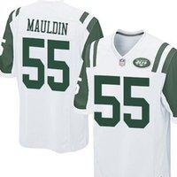 Wholesale Lorenzo Mauldin New York elite JERSEY shirts size S small xl