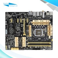 asus motherboard deluxe - For Asus Z87 DELUXE Original Used Desktop Motherboard For Intel Z87 Socket LGA DDR3 SATA3 USB3 ATX On Sale