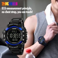 battery program - 2016 Fashionable men s watch waterproof outdoor sports program pacing heart rate neutral electronic watch of wrist of male students