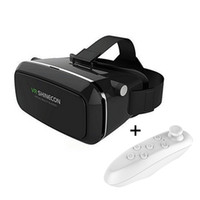 Wholesale Plastic VR BOX Version Virtual reality brille for G movie with fashion design with remote controller