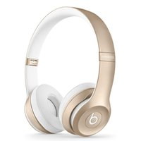 Wholesale High Quality Used Solo Wireless Headphones Anti Noise Headphones Headset Refurbished beats with seal retail box DHL Free