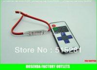 Wholesale DC v v A Keys rf remote led Controller Mini Dimmer for Single Color led strip