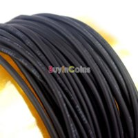Wholesale 4X M mm Heat Shrinkable Tube Shrink Tubing Black Wire Wrap wire wrap gemstone pendants