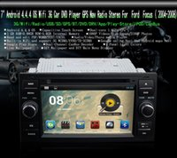 Wholesale 7 quot Android OS Wifi G GPS Nav Radio Stereo Car DVD Player for Ford Focus Black DHL UPS FEDEX