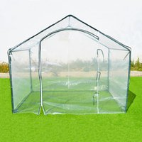Wholesale New Hot x3 x5 Green House Outdoor Plant Gardening Mini Greenhouse