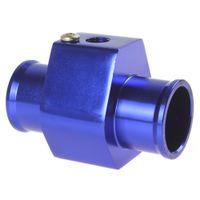 Wholesale Aluminium mm mm mm mm mm mm Three way Tee Valve Adapter For quot NPT Car Water Temperature Temp Sensor Digital Gauge meter