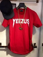 arc music - Dongguk door YEEZUS arc hem short sleeve TEE M Music T shirt ADYN high street hip hop right Zhilong Street