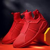 Wholesale Brand Designer Mesh breathable Men s shoes cozy soft casual shoes outdoor lace up men shoes HJIA668